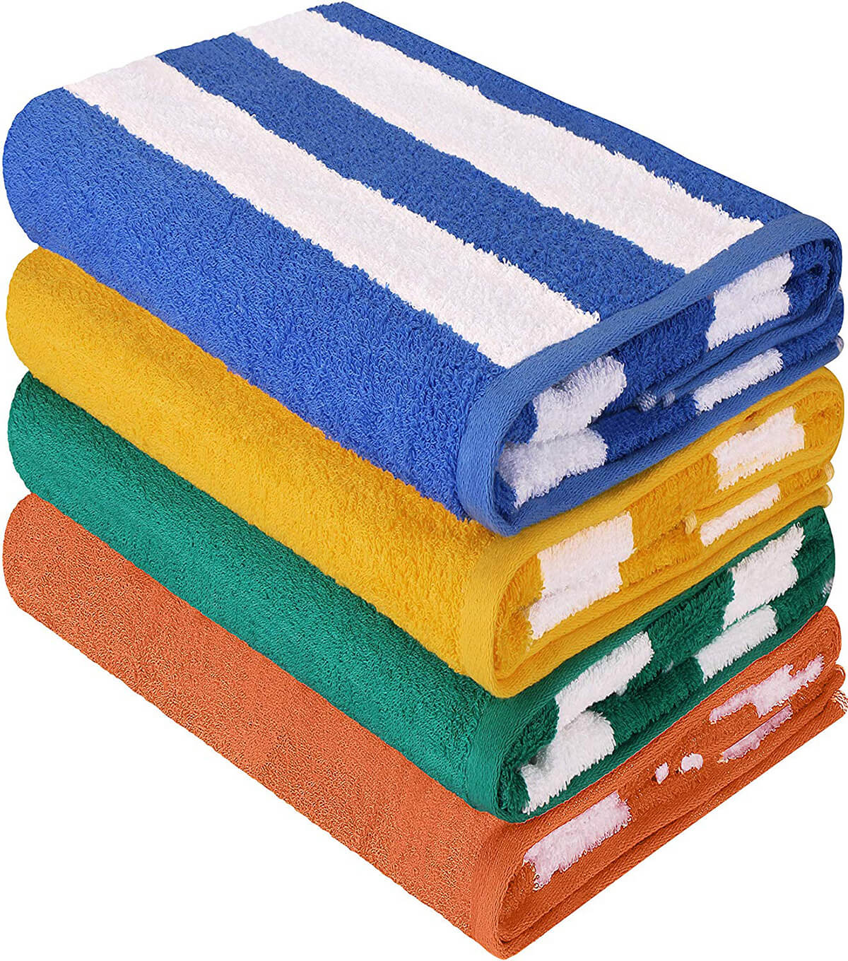 Cabana Stripe Beach Towels by Utopia Towels