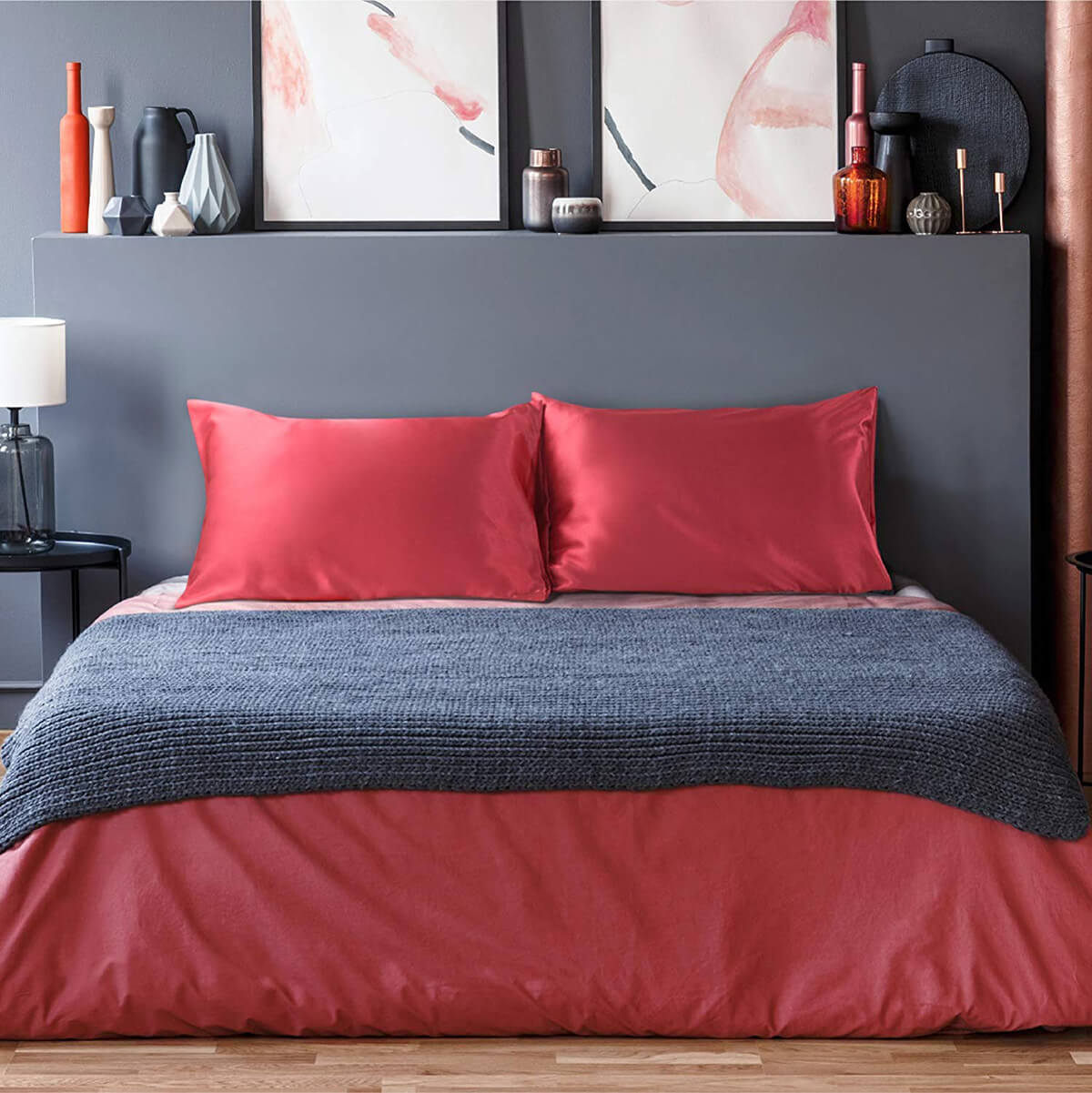 A Distinct and Lustrous Pillowcase that Won't Break the Bank