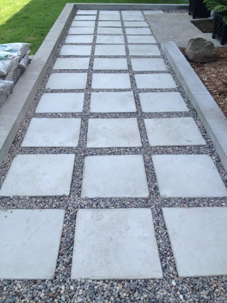 Simple Path-Style Paver Design