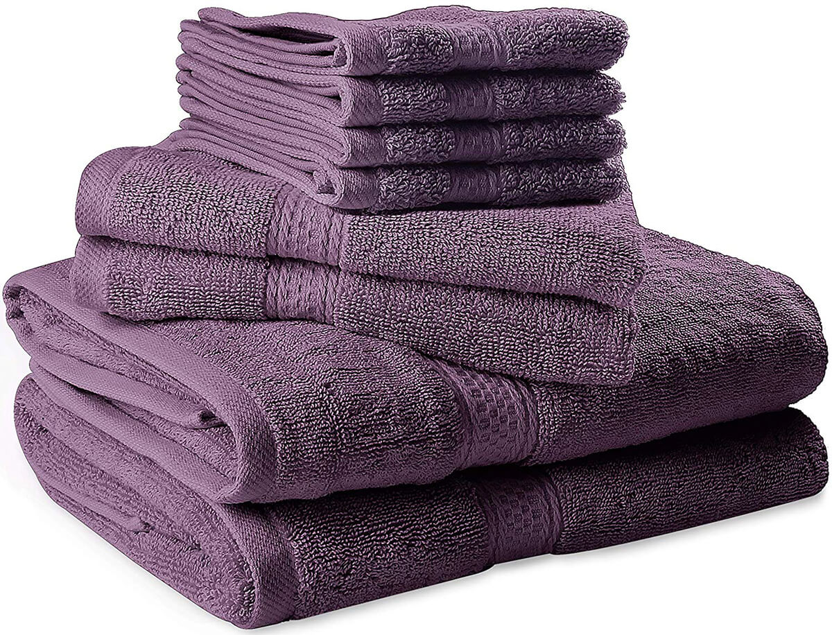 8 Piece Towel Set by Utopia Towels