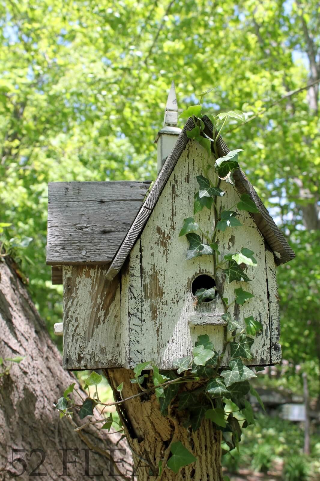 Simple Stacked Bird's Nest Idea