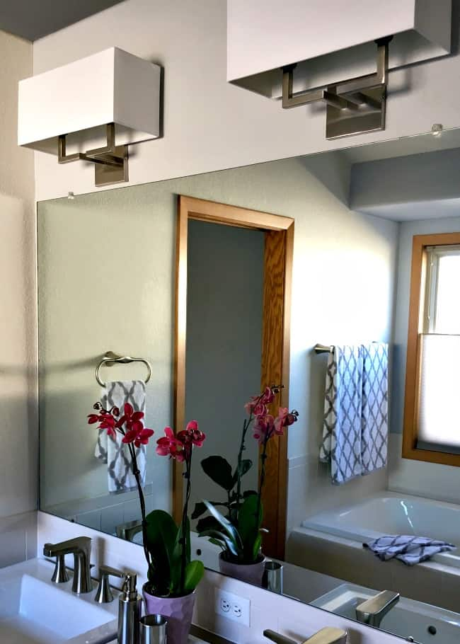 A Mini Master Bathroom Makeover