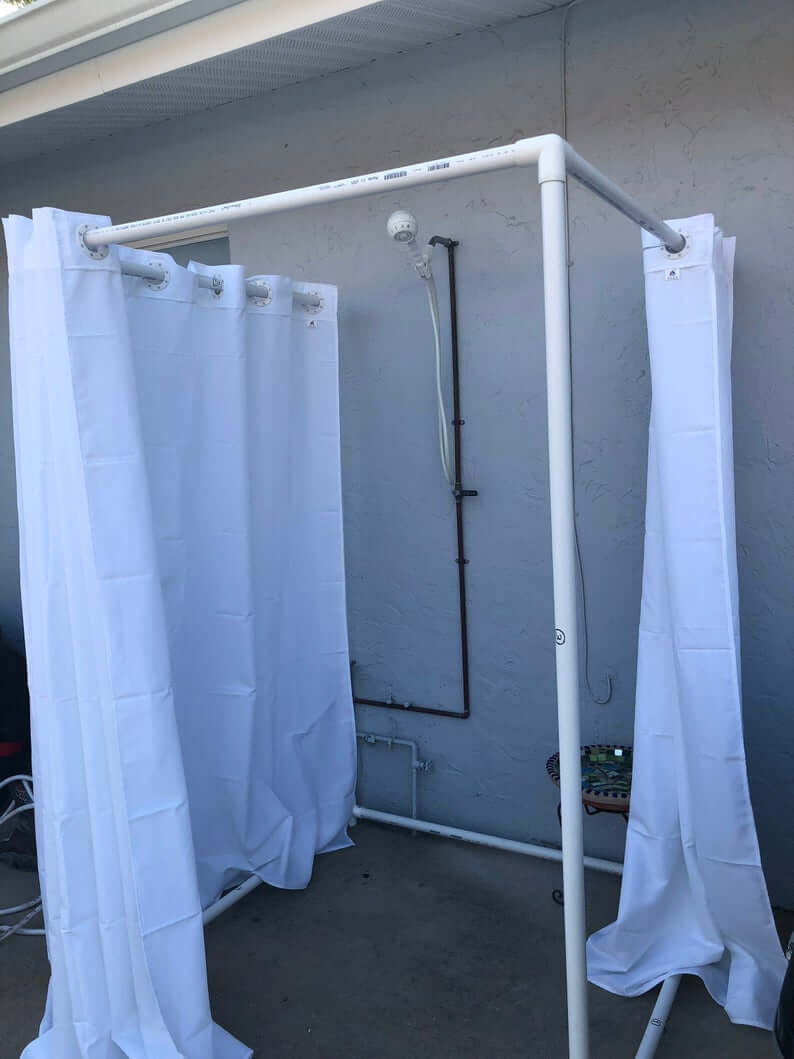 Quick Outdoor DIY Washing Station