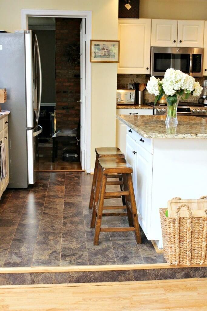 Eco-Friendly Kitchen Flooring Idea