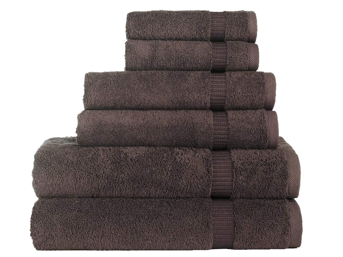 6 Piece Bath Towel Set by SALBAKOS