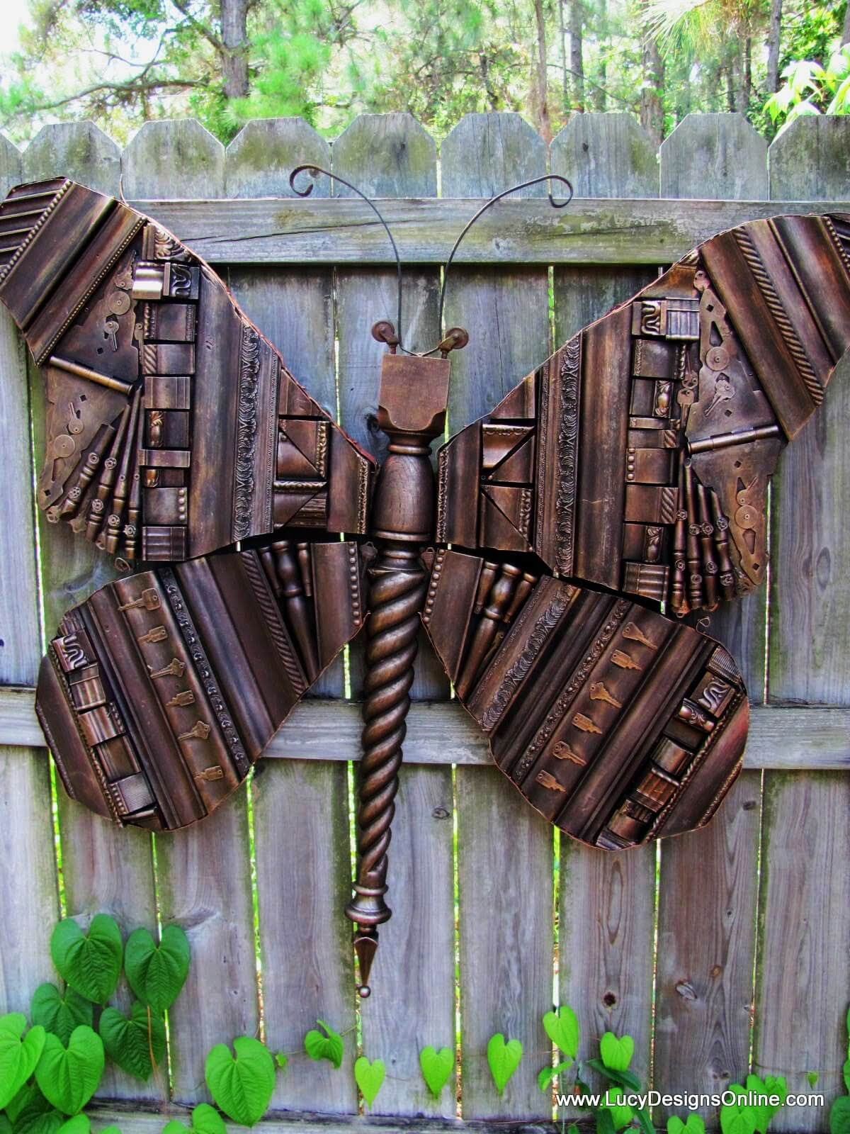 Beautiful Butterfly Photo Display