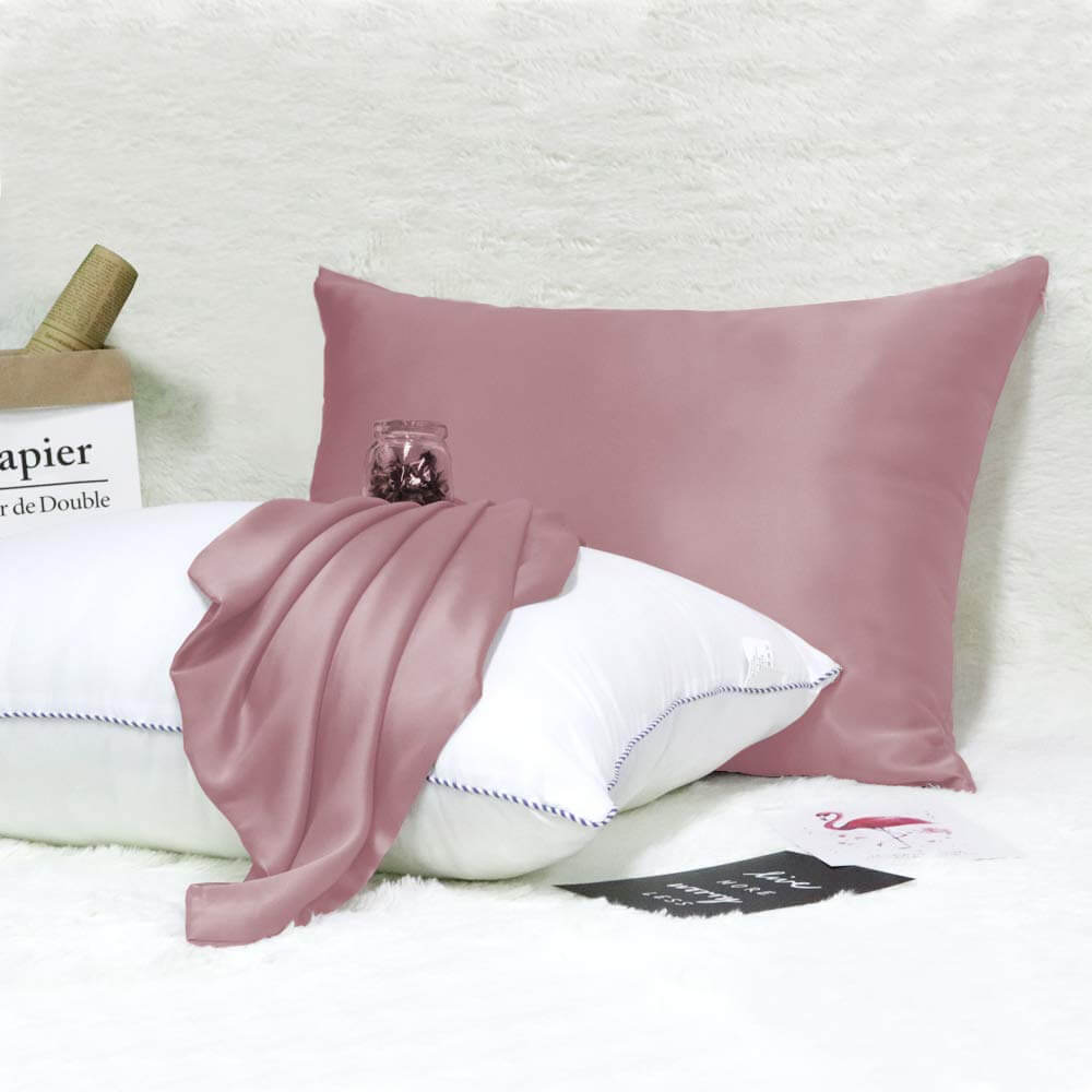 A 100 Percent Mulberry Pillowcase from a Trusted Brand