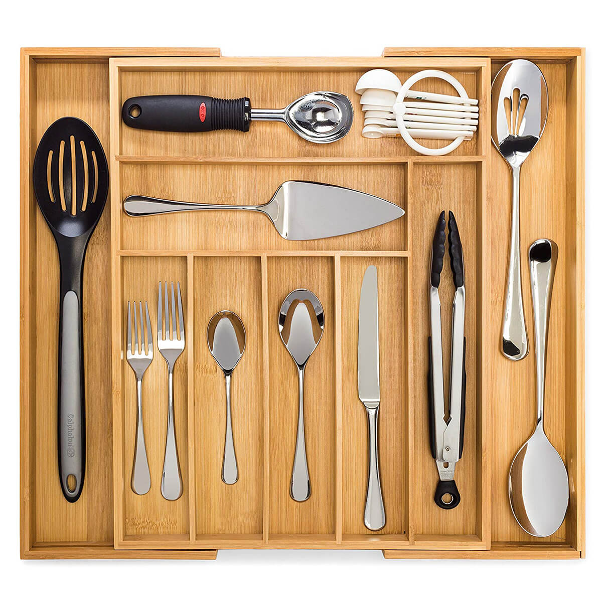 Expandable Cutlery and Utensil Drawer Organizer