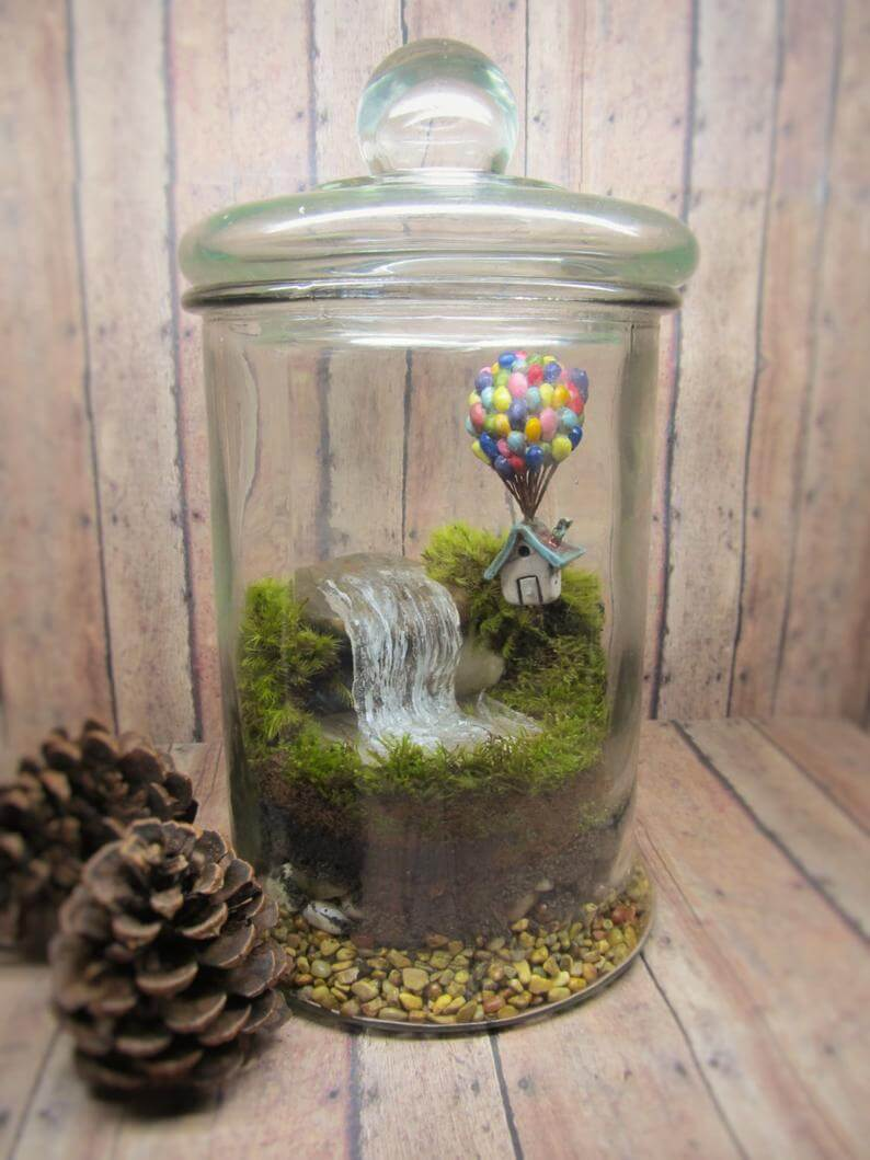 Up Themed Whimsical Adventure Jar