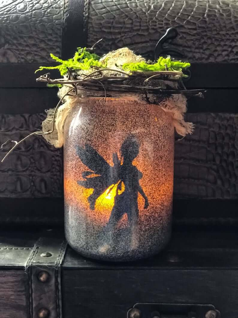 Illuminating Enchanted Fairy Jar