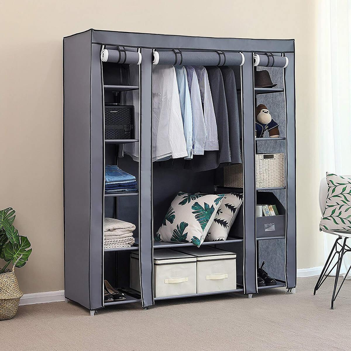 59 Inch Portable Closet Organizer