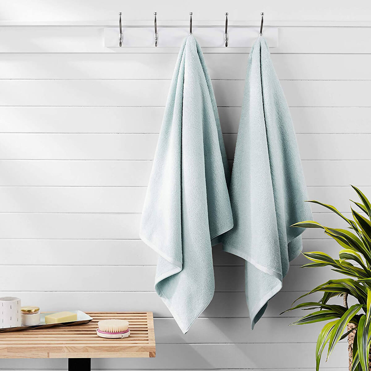 Quick-Dry Towels by AmazonBasics