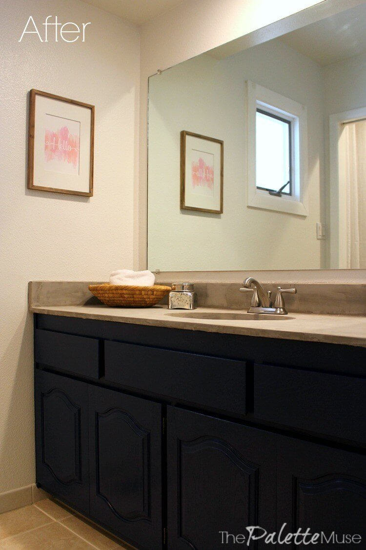 A Simple Update for Your Bathroom on a Budget