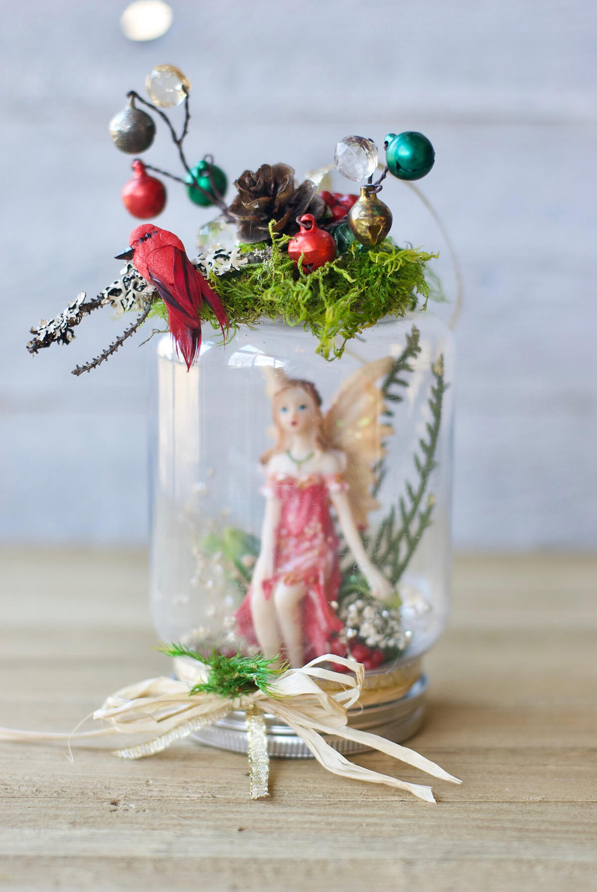 Jolly and Whimsical DIY Fairy Jar