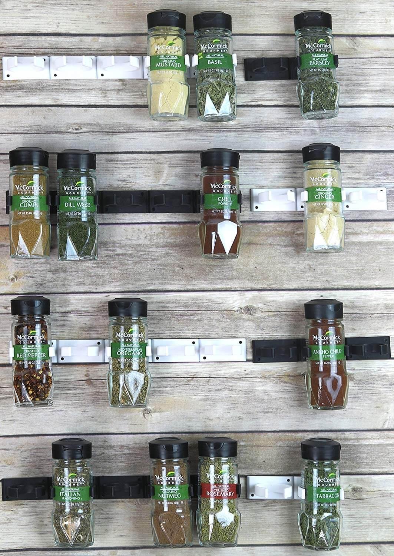 Minimalist Spice Bottle Gripper Clip