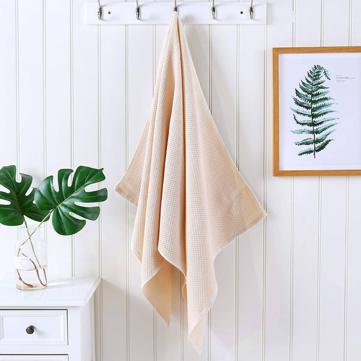 Lightweight Knit Bath Towel Set by CC CAIHONG