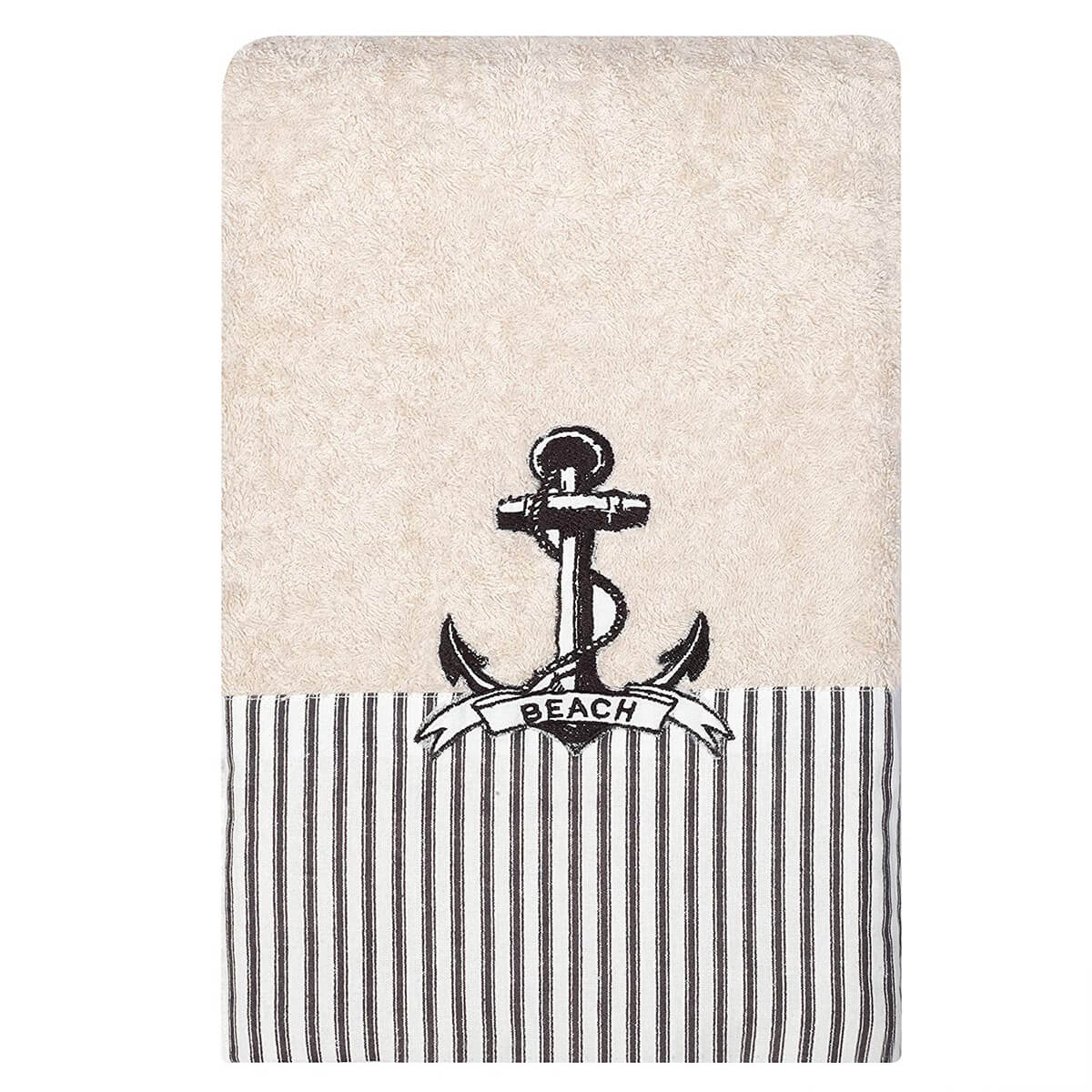 India Ink Beach Cottage Bath Towel by Zenna Home