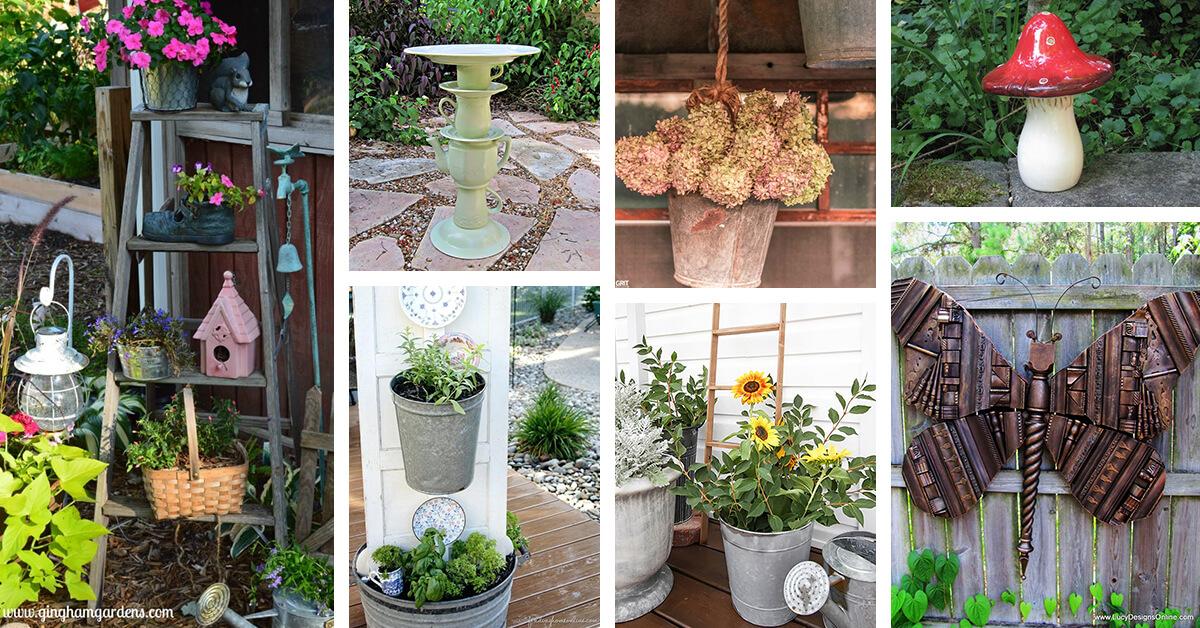 25 Best Countryside Garden Decor Ideas
