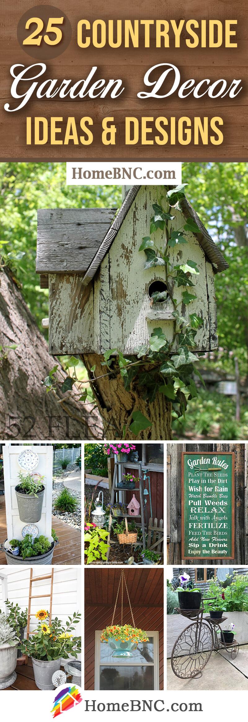Countryside Garden Decor Ideas