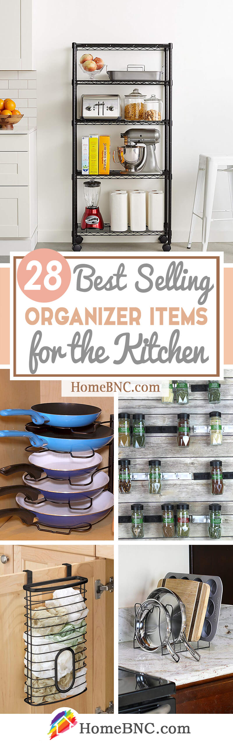 Best Selling Organizer Products for Kitchen