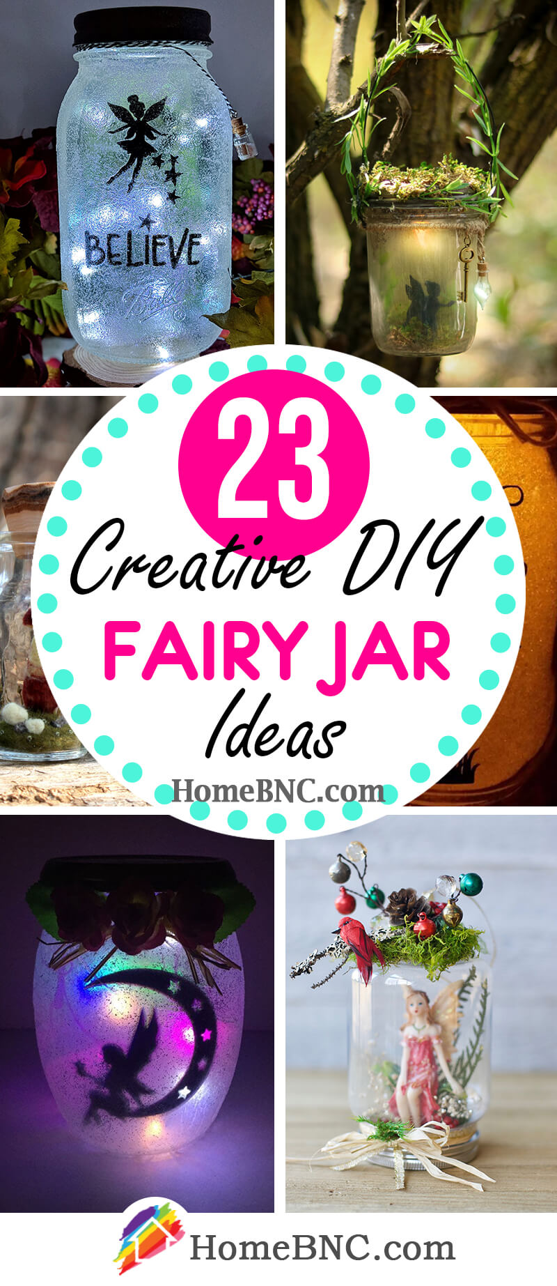 DIY Fairy Jar Ideas