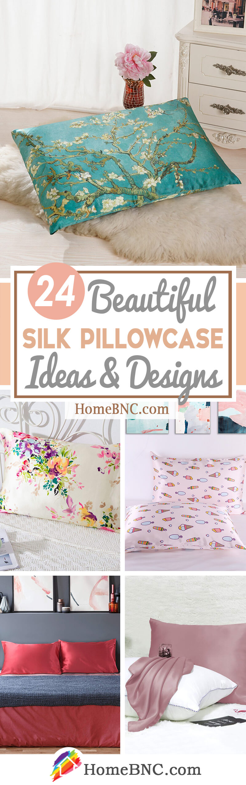 Silk Pillowcase Design Ideas