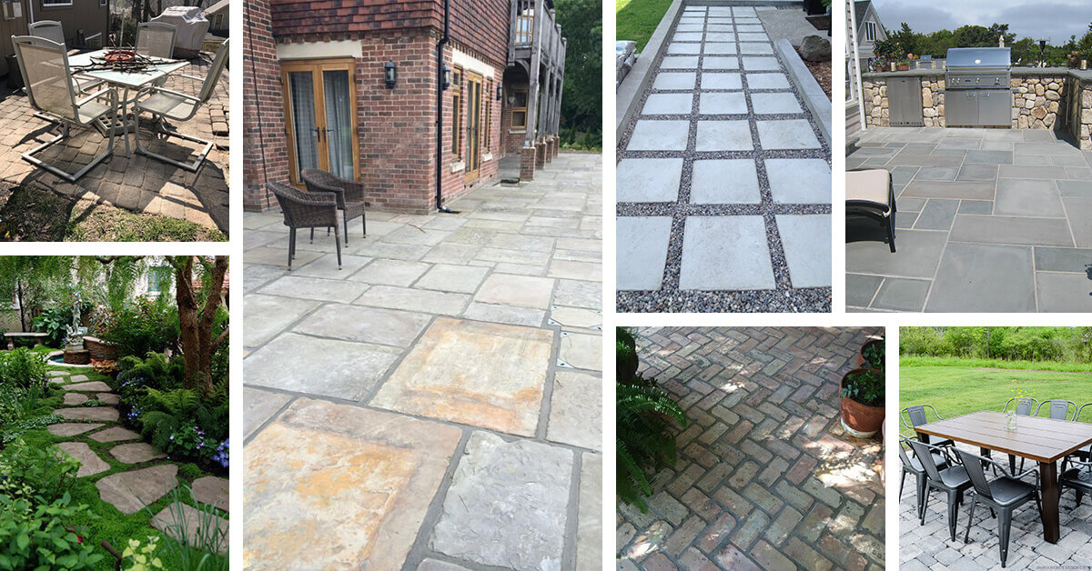 8 Best Walkway and Patio Paver Design Ideas for 2020