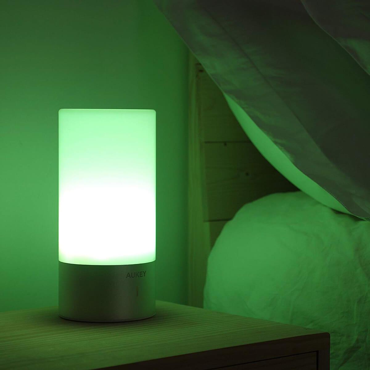 Playful Color Changing Bedside Lamp