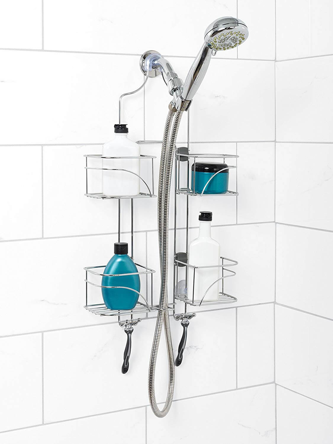 Hanging Shower Caddy Offers Great Design Ideas