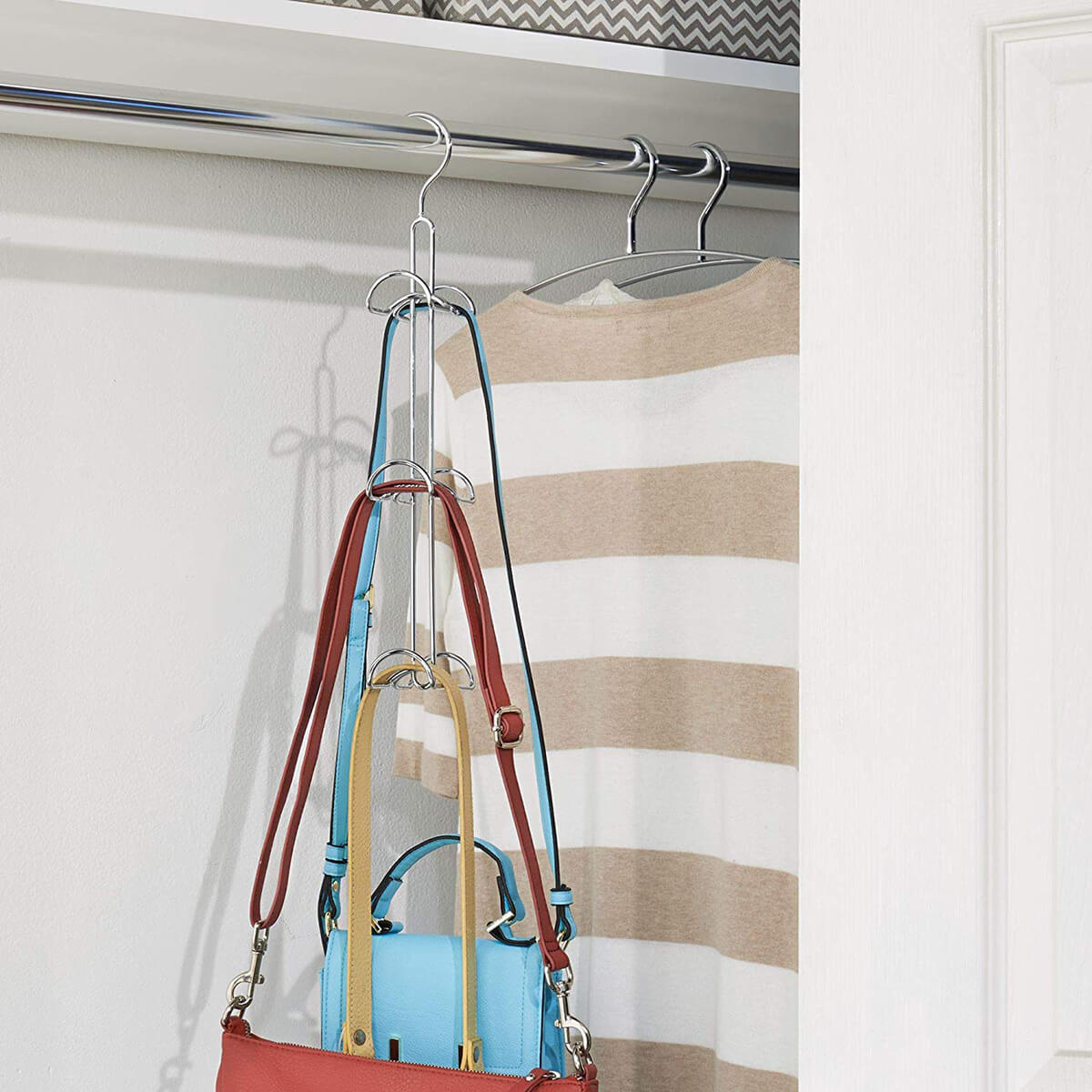 Innovative Three-Level Purse Hanger