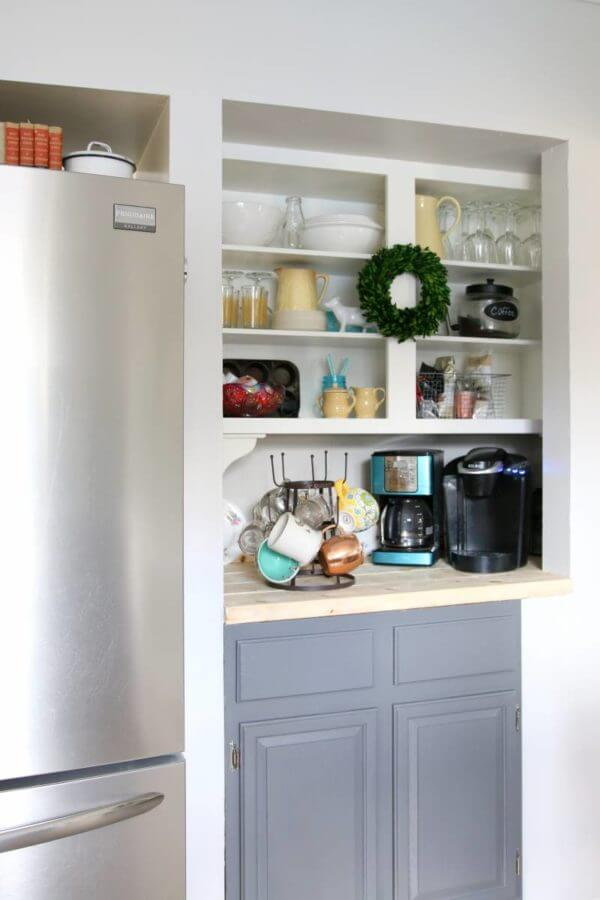 Making the Most of Above-Counter Storage
