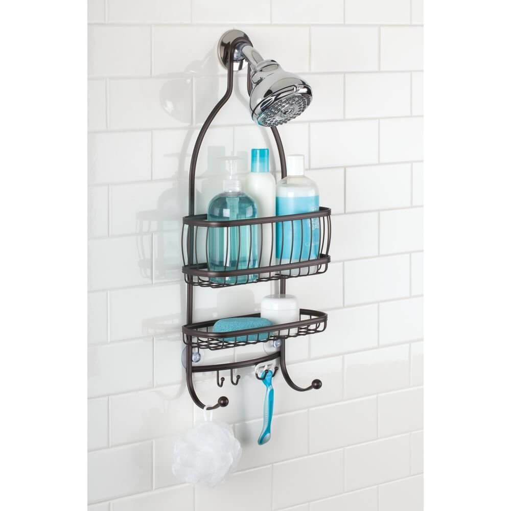 Extra-wide Wire Mesh Shower Caddy