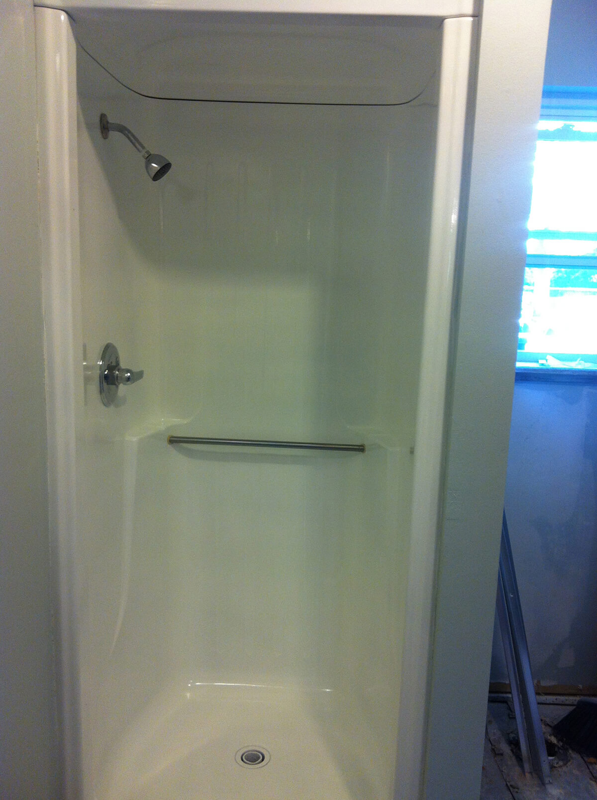 Easy Affordable Glazed Shower Transformation
