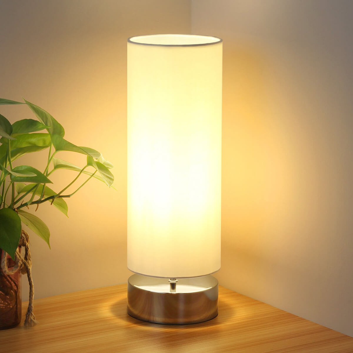 Minimalist Touch Control Bedside Lamp