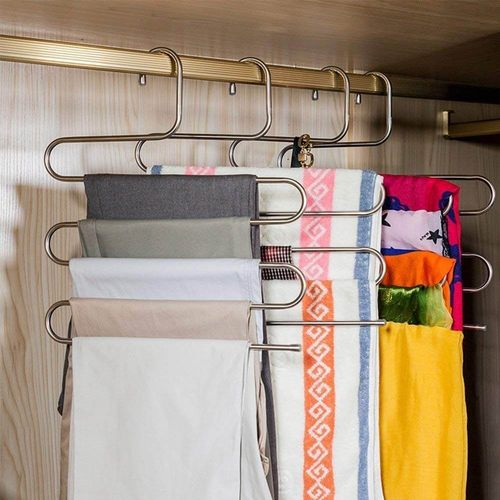 Amazing Four-Layer Closet Hangers