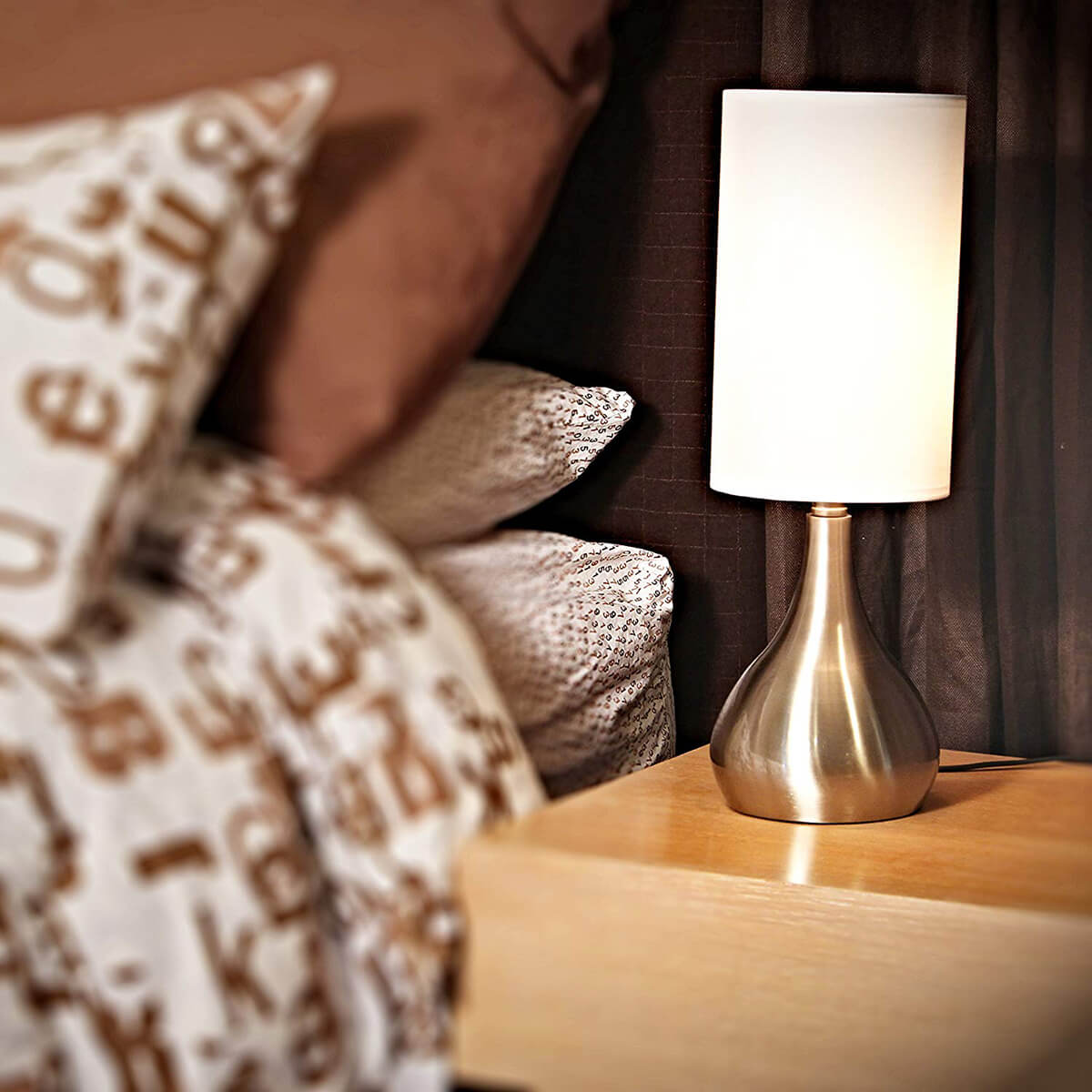 Funky Ambient Bedside Touch Lamp