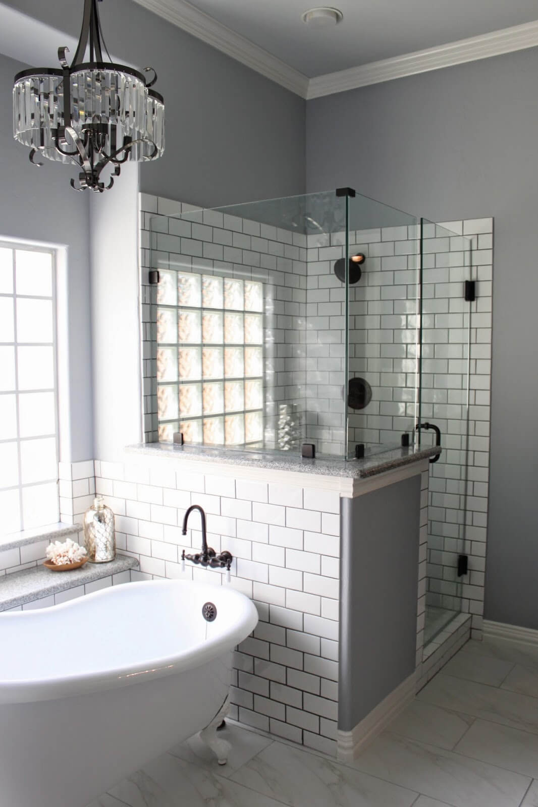 Blending Modern and Traditional for a Timeless Bathroom Makeover