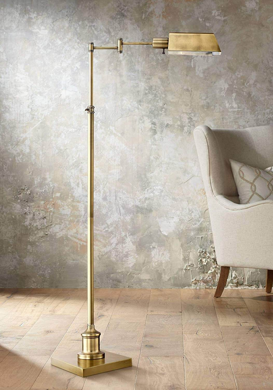 Nothing Beats a Classic Pharmacy Floor Lamp