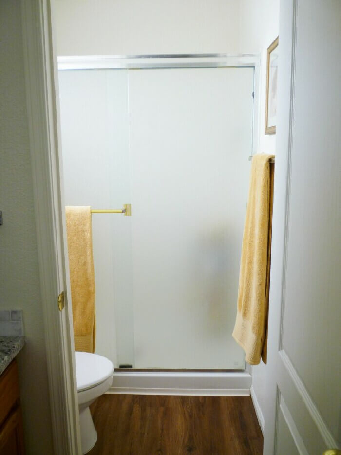 Hot Tip for Sparkling Clean Shower Doors