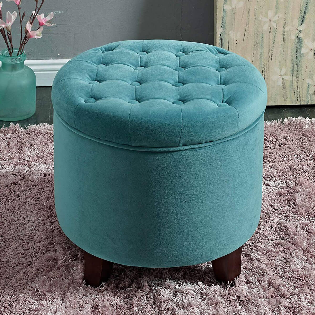 Terrific 24 Best Hassocks And Ottomans To Make Your Room Relaxing In 2019 Creativecarmelina Interior Chair Design Creativecarmelinacom