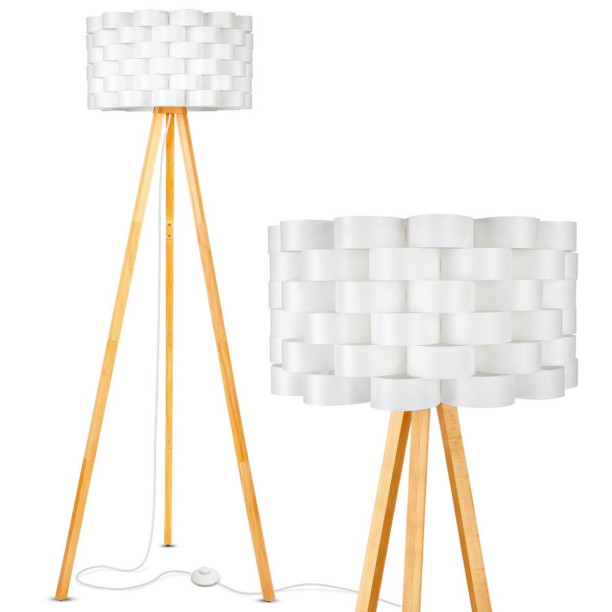The Mid-Century Tripod Lamp Takes Center Stage