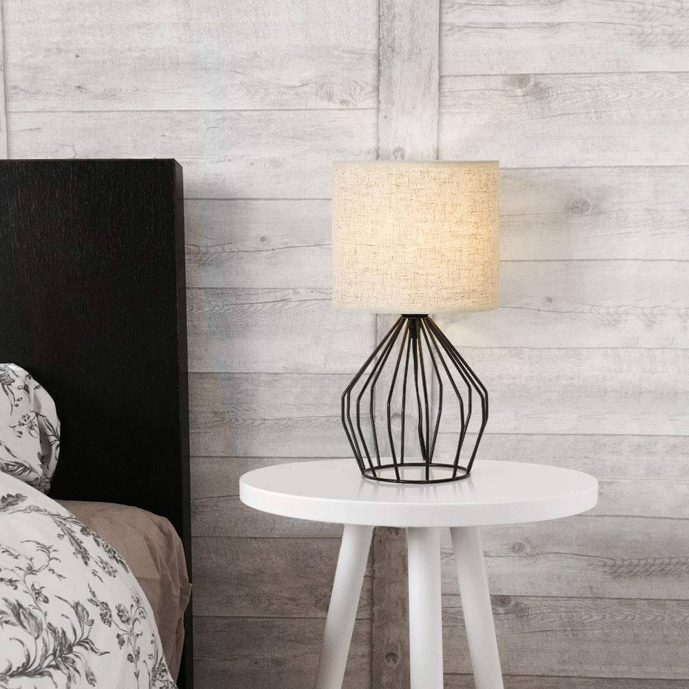 Hollow Cage Minimalist Lamp Design