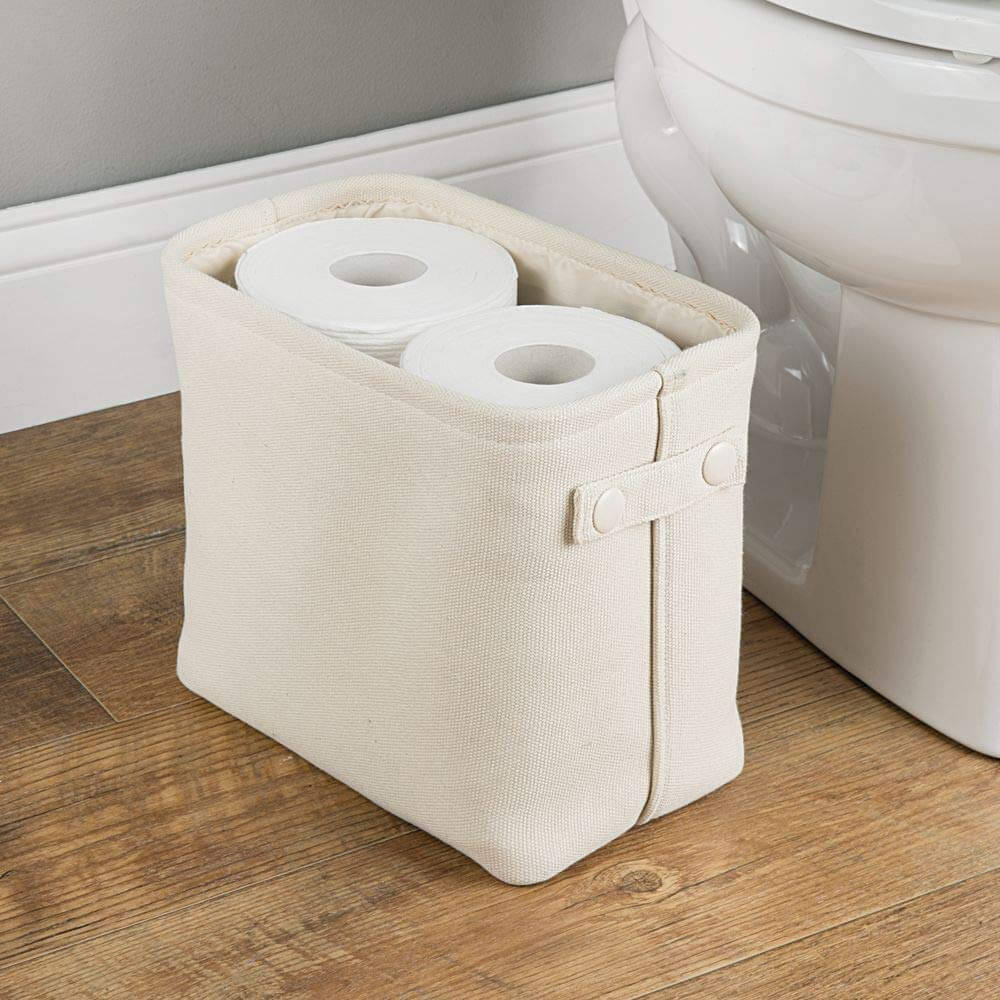 Multi-use Cotton Bathroom Storage Basket