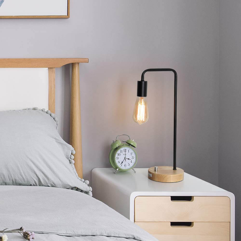 25 Best Bedside Table Lamps To Light Up