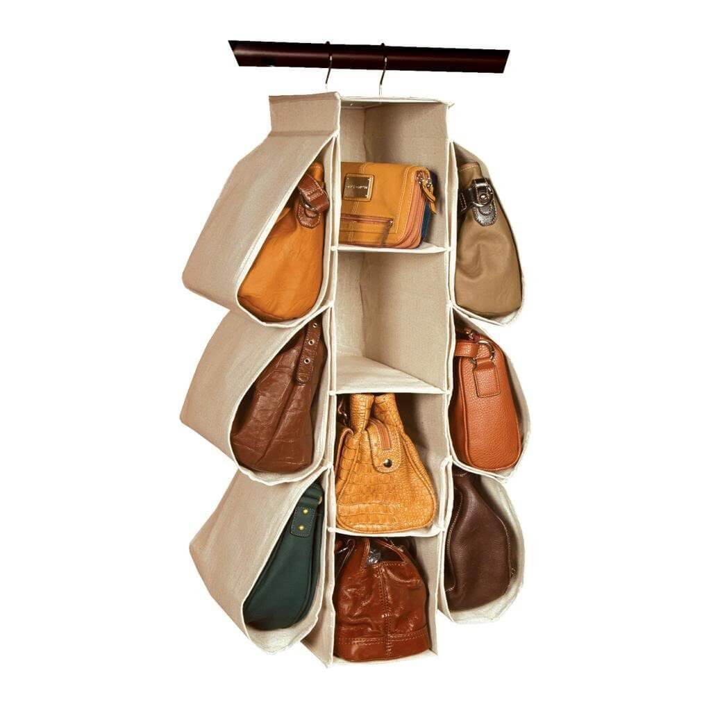 Cool and Compact Perfect Purse Hanging Organizer