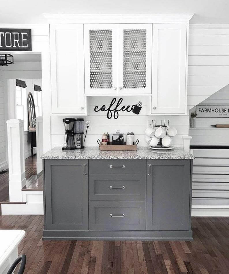 Home Coffee Bar Design Ideas: 28 Best Coffee Bar Ideas To Kickstart Your Days In 2020