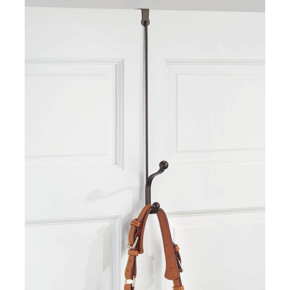 Low-Hanging Over-the-Door Double Hook