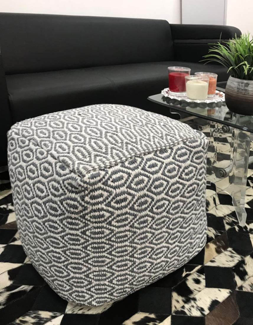 Superb 24 Best Hassocks And Ottomans To Make Your Room Relaxing In 2019 Machost Co Dining Chair Design Ideas Machostcouk