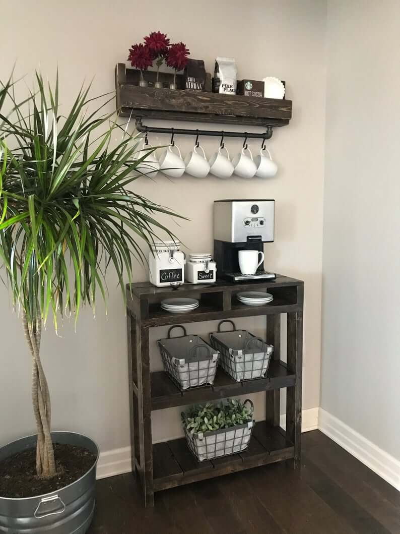 Sophisticated and Upscale Coffee Bar Ideas