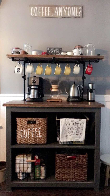 Coffee Bar Down on the Farm